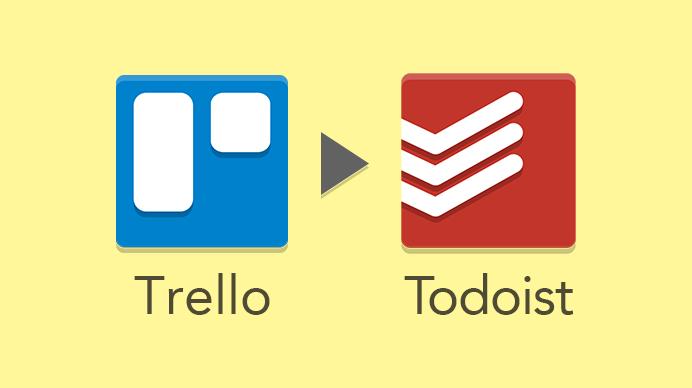 """""""タスク管理をTrelloからTodoistに移行したら"""""""