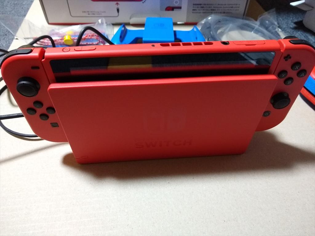 Nintendo Switch マリオレッド×ブルー セットの画像1