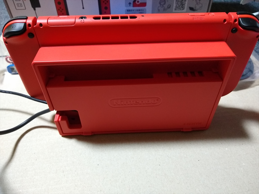 Nintendo Switch マリオレッド×ブルー セットの画像2