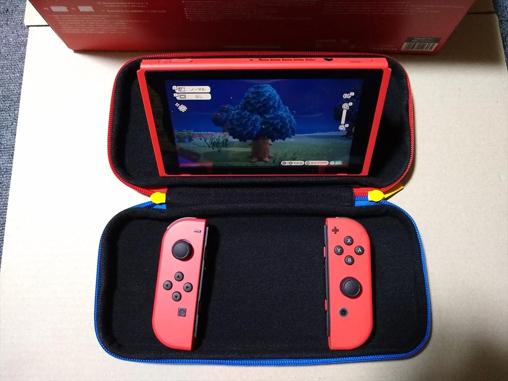 Nintendo Switch マリオレッド×ブルー セットの画像3
