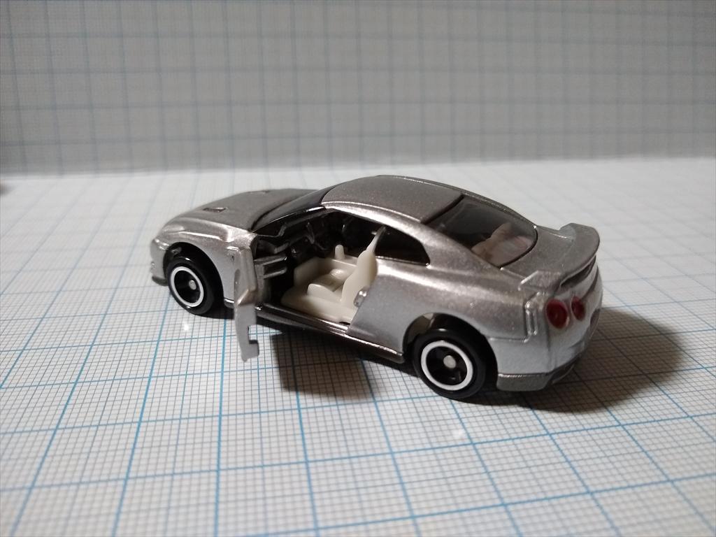 トミカ 日産 GT-R(シルバー) 日産工場見学記念の画像1