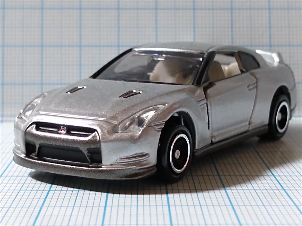 トミカ 日産 GT-R(シルバー) 日産工場見学記念の画像3