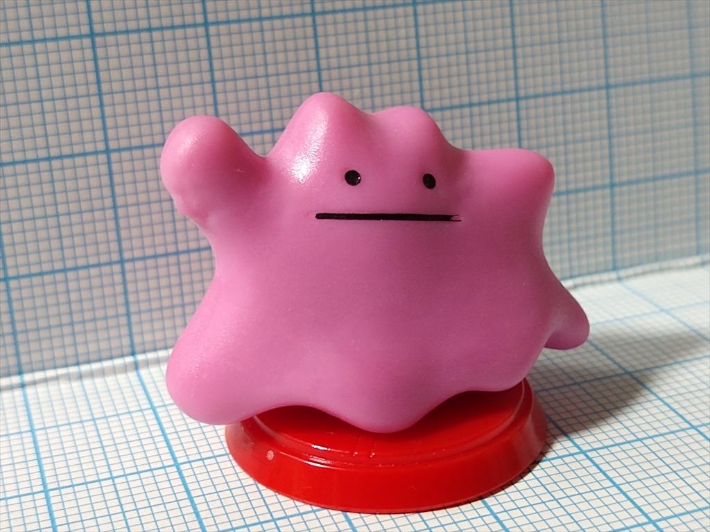 チョコエッグ ポケットモンスター サン&ムーン 04.メタモンの画像