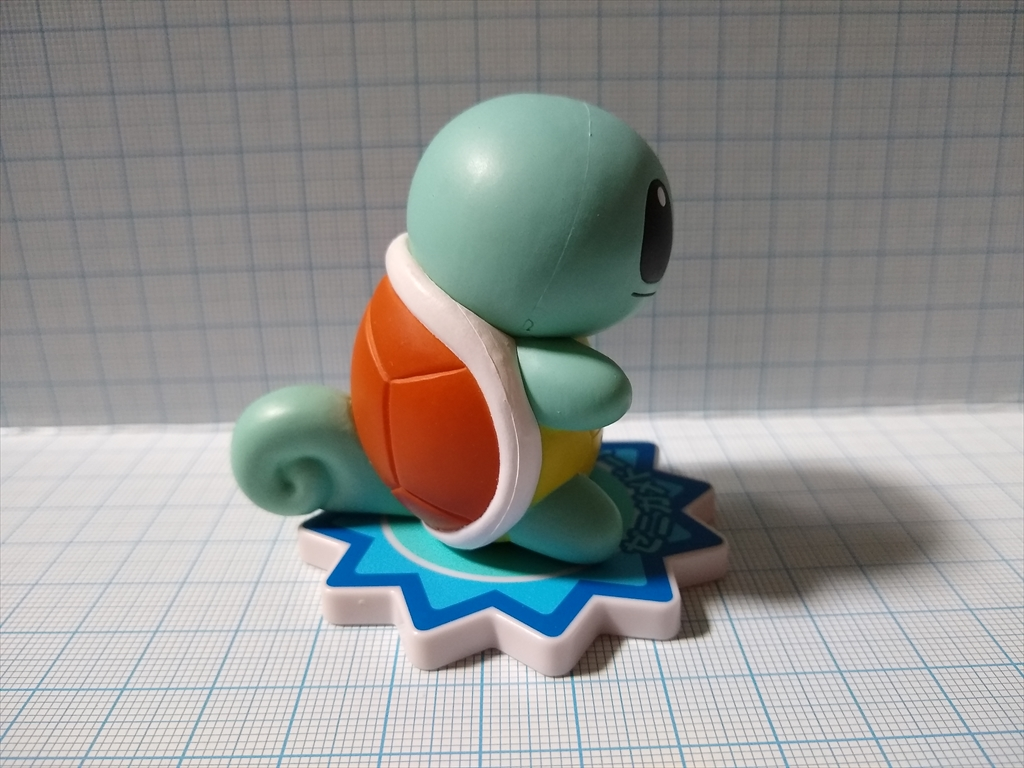 「ポケモンわくわくゲットくじ2012」ゼニガメの画像3