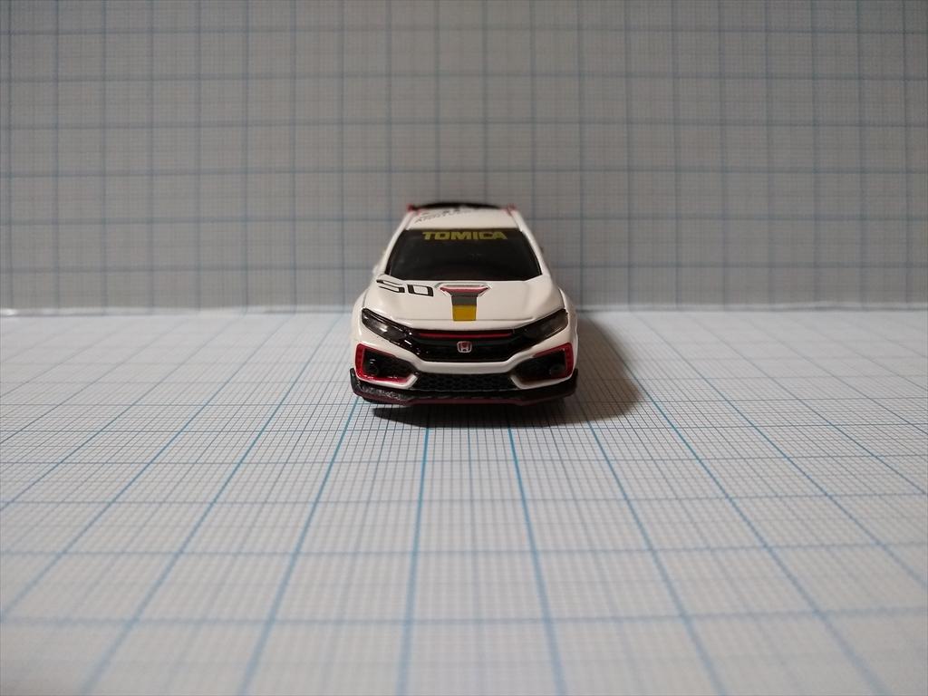 ホンダ シビック TYPE R トミカ50周年記念仕様 designed by Hondaの画像2