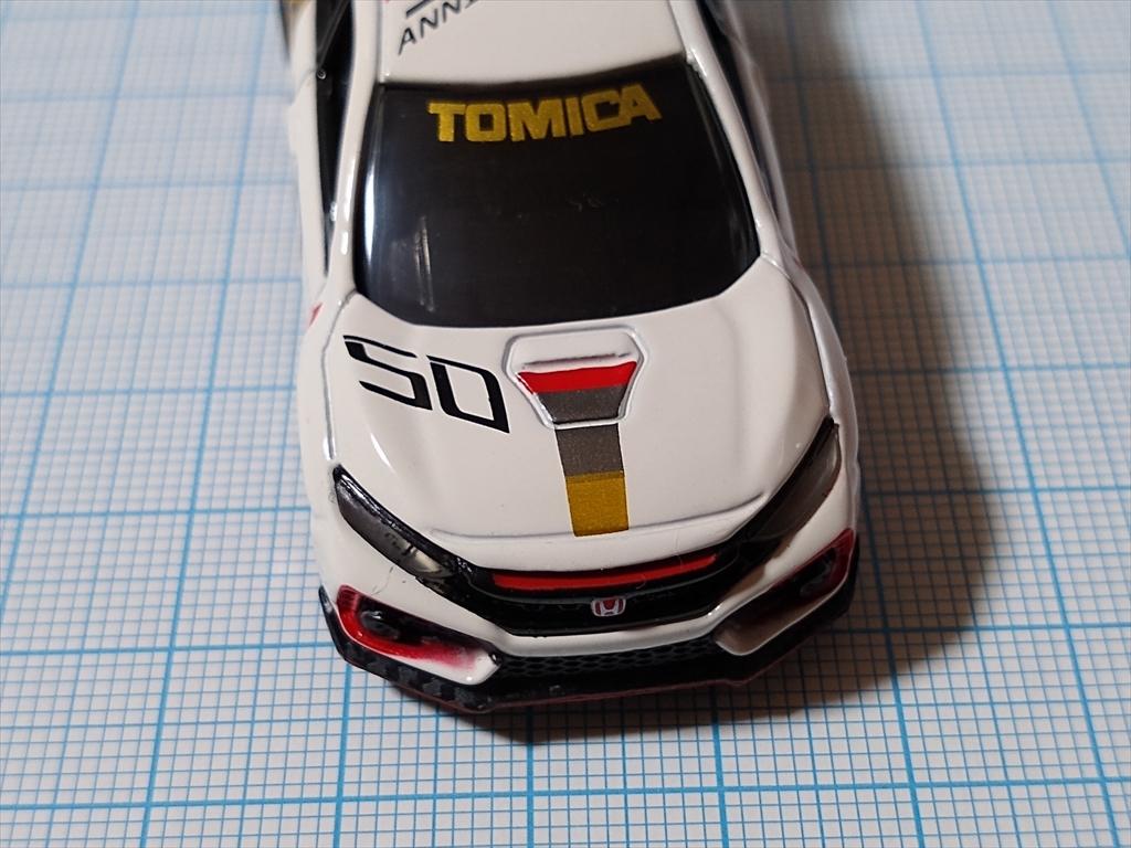 ホンダ シビック TYPE R トミカ50周年記念仕様 designed by Hondaの画像