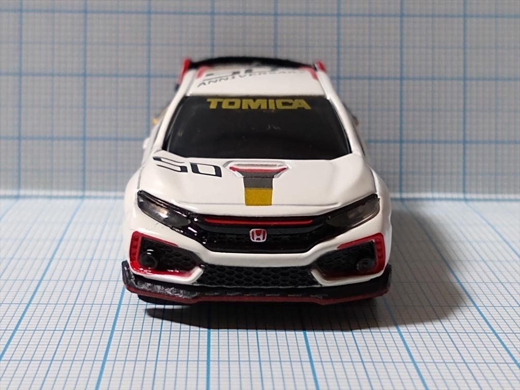 ホンダ シビック TYPE R トミカ50周年記念仕様 designed by Hondaの画像1