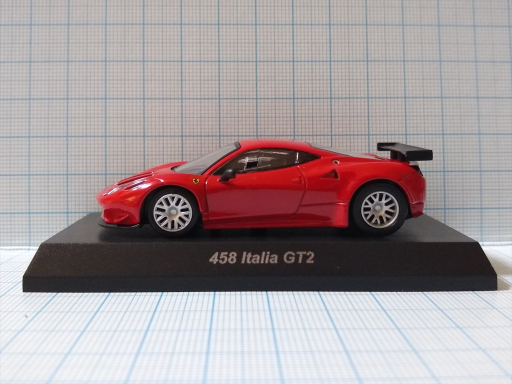 京商ミニカー フェラーリミニカーコレクション9  458 Italia GT2の画像1