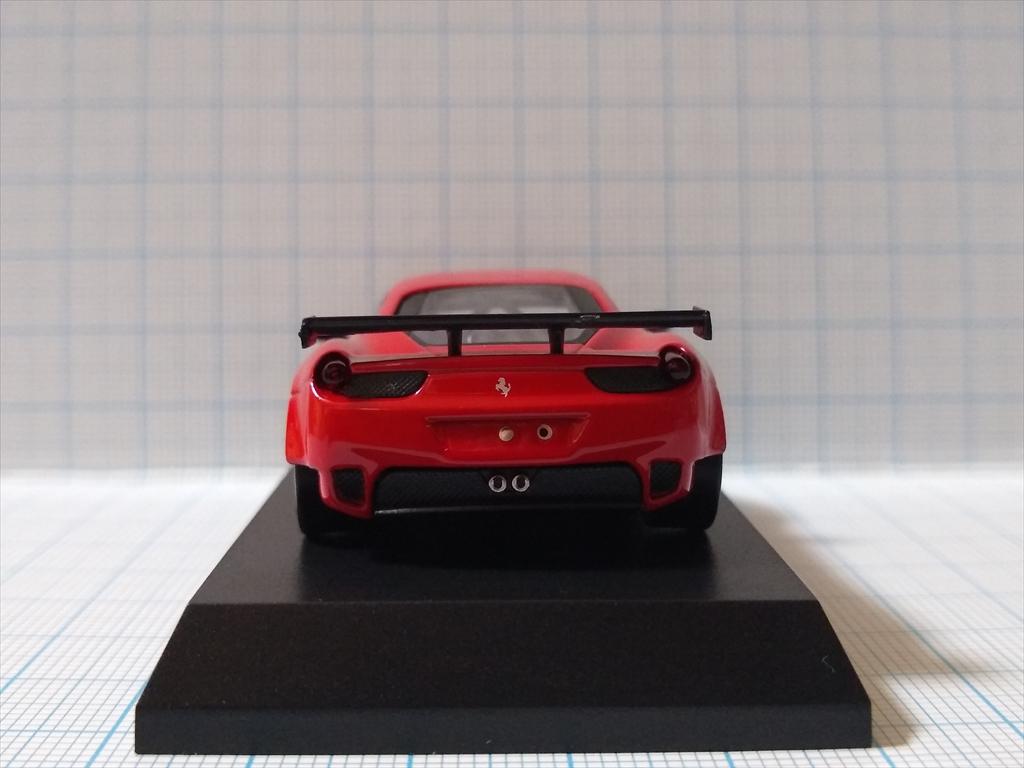 京商ミニカー フェラーリミニカーコレクション9  458 Italia GT2の画像4