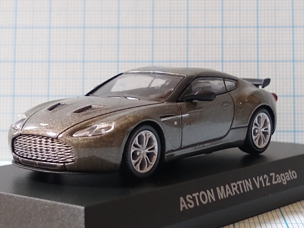 京商ミニカー アストンマーティン ミニカーコレクション ASTON MARTIN V12 Zagatoの画像3
