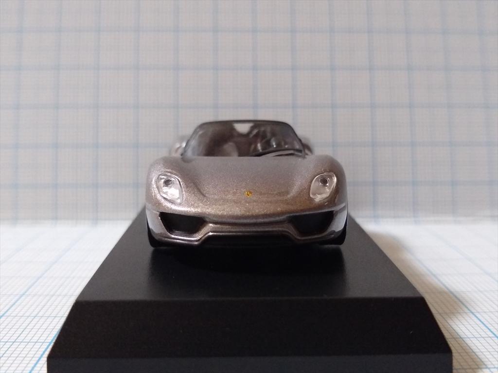 京商ミニカー ポルシェ ミニカーコレクション5 Porsche 918 Spyderの画像3