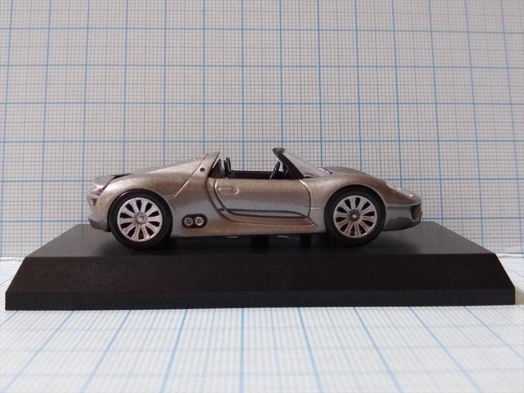 京商ミニカー ポルシェ ミニカーコレクション5 Porsche 918 Spyderの画像4