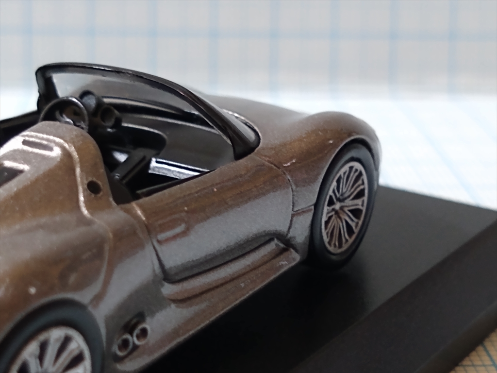 京商ミニカー ポルシェ ミニカーコレクション5 Porsche 918 Spyderの画像