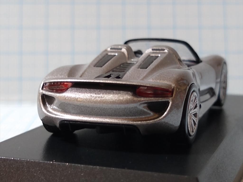 京商ミニカー ポルシェ ミニカーコレクション5 Porsche 918 Spyderの画像1