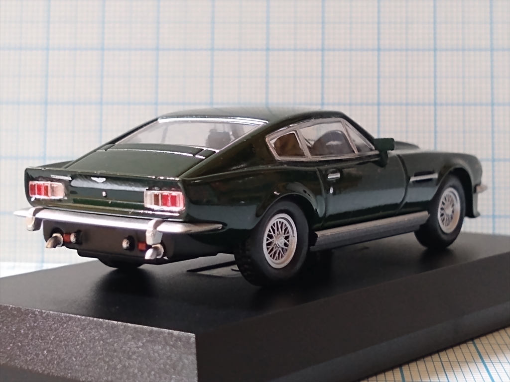 京商ミニカー アストンマーティン ミニカーコレクション ASTON MARTIN V8 Vantageの画像4