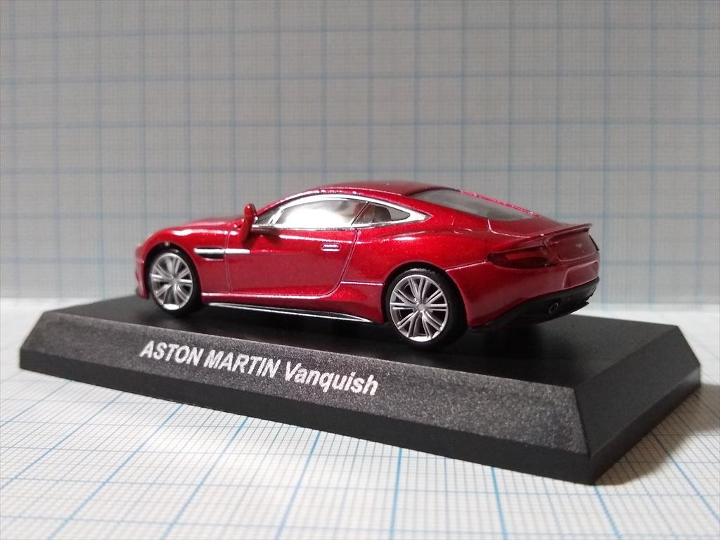 京商ミニカー アストンマーティン ミニカーコレクション ASTON MARTIN Vanquishの画像7