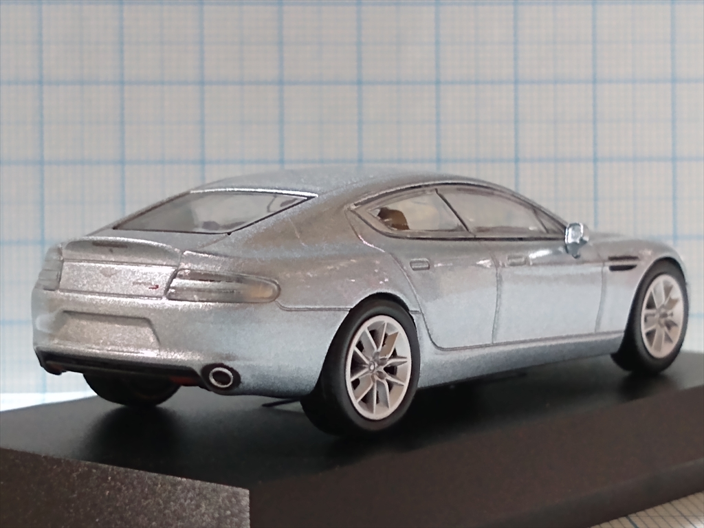 京商ミニカー アストンマーティン ミニカーコレクション ASTON MARTIN Rapide Sの画像4