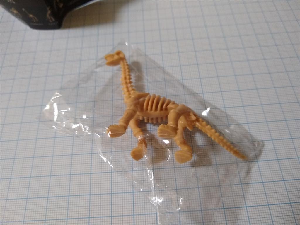 カプセルトイ 恐竜の化石ミュージアム ブラキオサウルス(レビュー)の画像