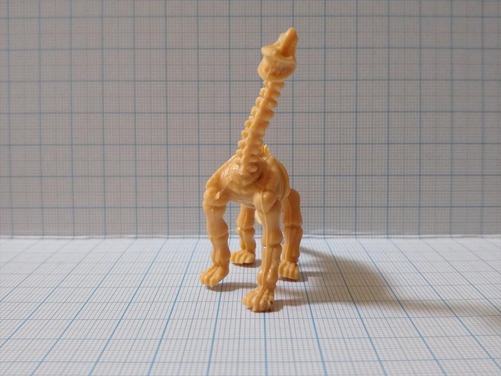 カプセルトイ 恐竜の化石ミュージアム ブラキオサウルス(レビュー)の画像3