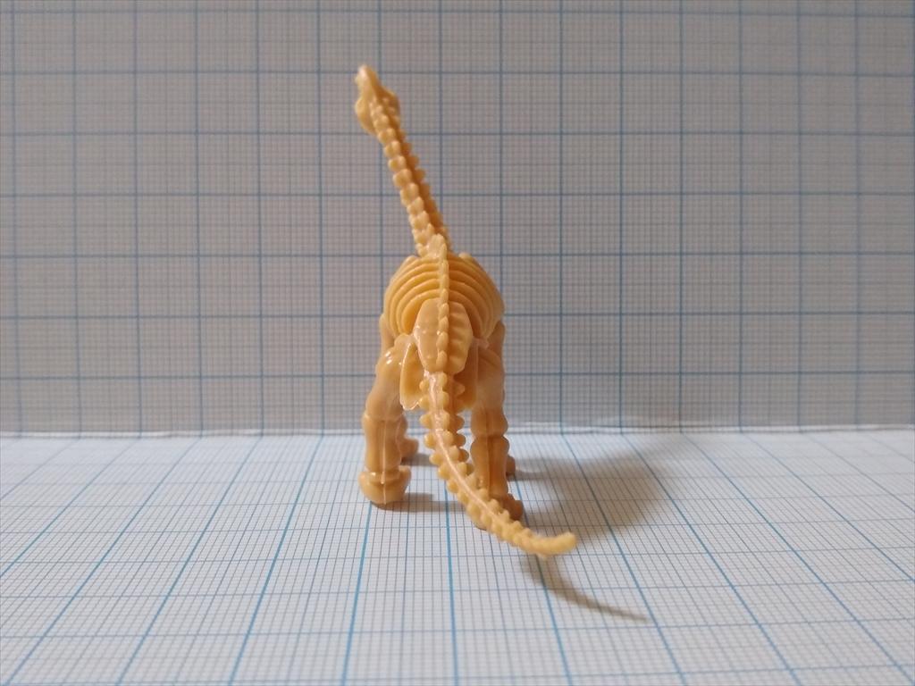 カプセルトイ 恐竜の化石ミュージアム ブラキオサウルス(レビュー)の画像5