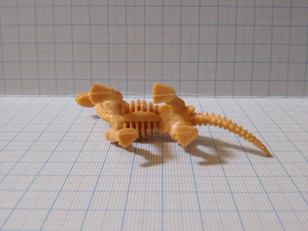 カプセルトイ 恐竜の化石ミュージアム ブラキオサウルス(レビュー)の画像7