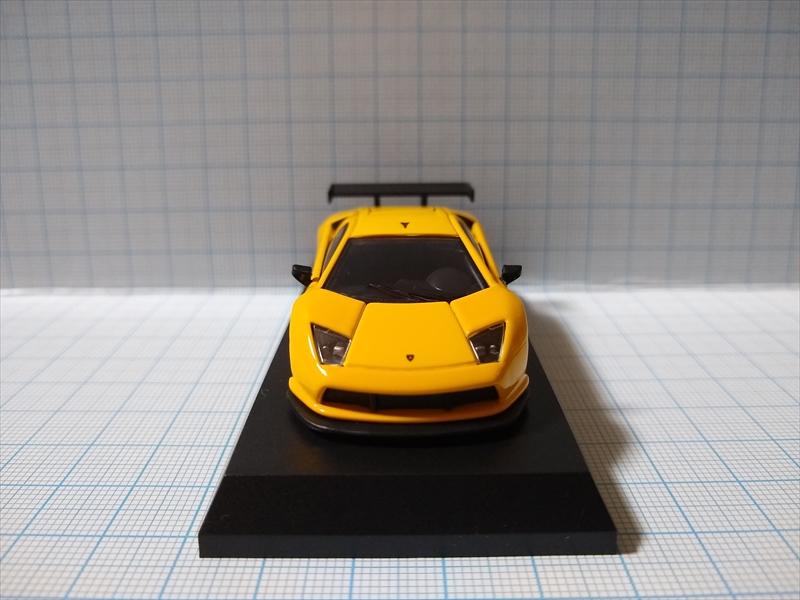 ランボルギーニ ミニカーコレクション6 Lamborghini Murcielago R-GT Team JLOCの画像2