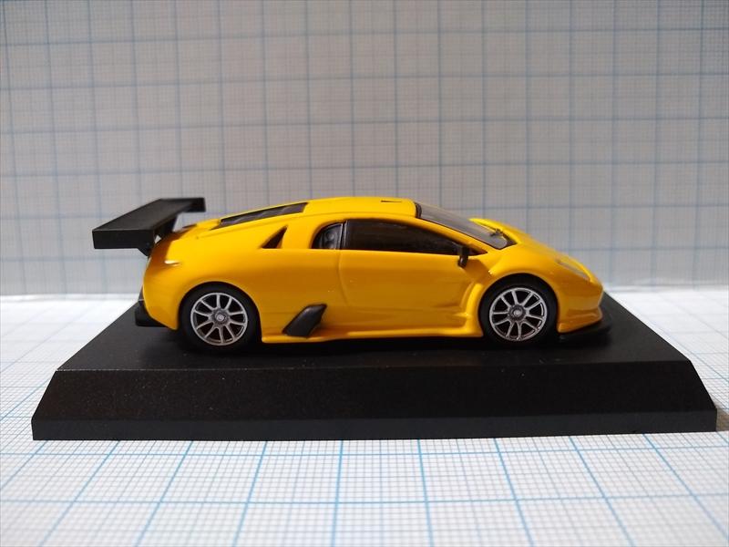 ランボルギーニ ミニカーコレクション6 Lamborghini Murcielago R-GT Team JLOCの画像3