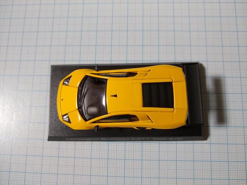 ランボルギーニ ミニカーコレクション6 Lamborghini Murcielago R-GT Team JLOCの画像6