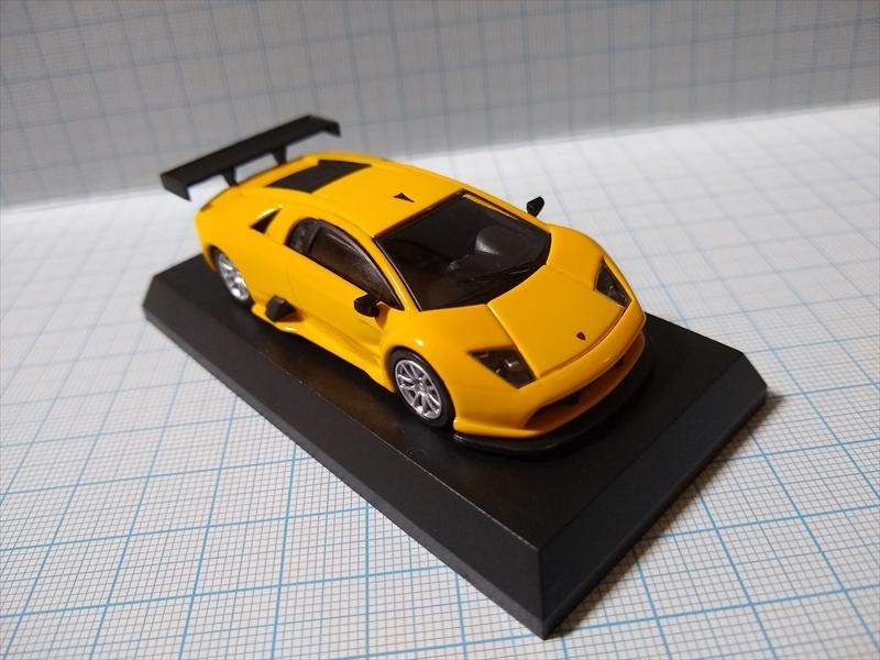 ランボルギーニ ミニカーコレクション6 Lamborghini Murcielago R-GT Team JLOCの画像7