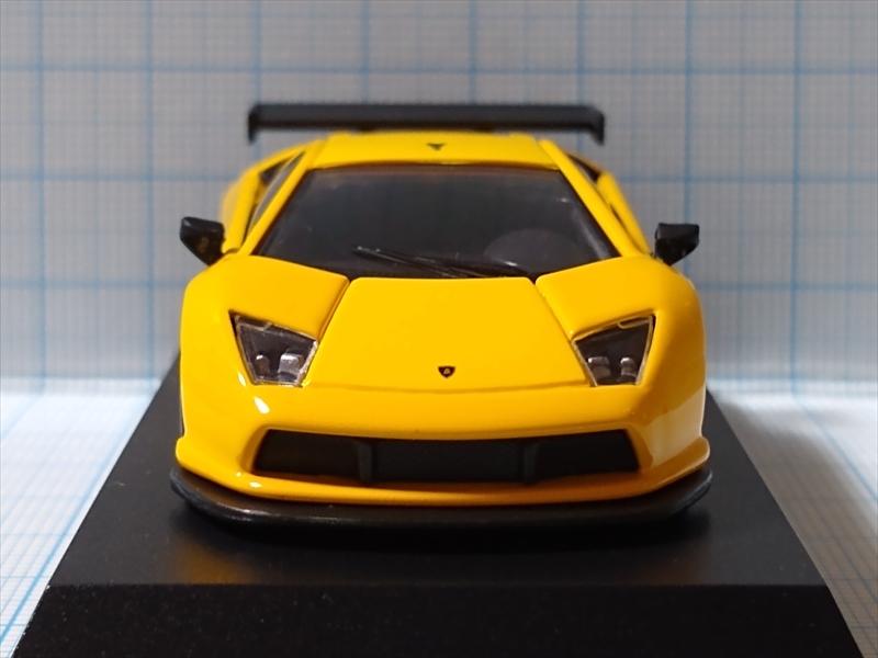 ランボルギーニ ミニカーコレクション6 Lamborghini Murcielago R-GT Team JLOCの画像1