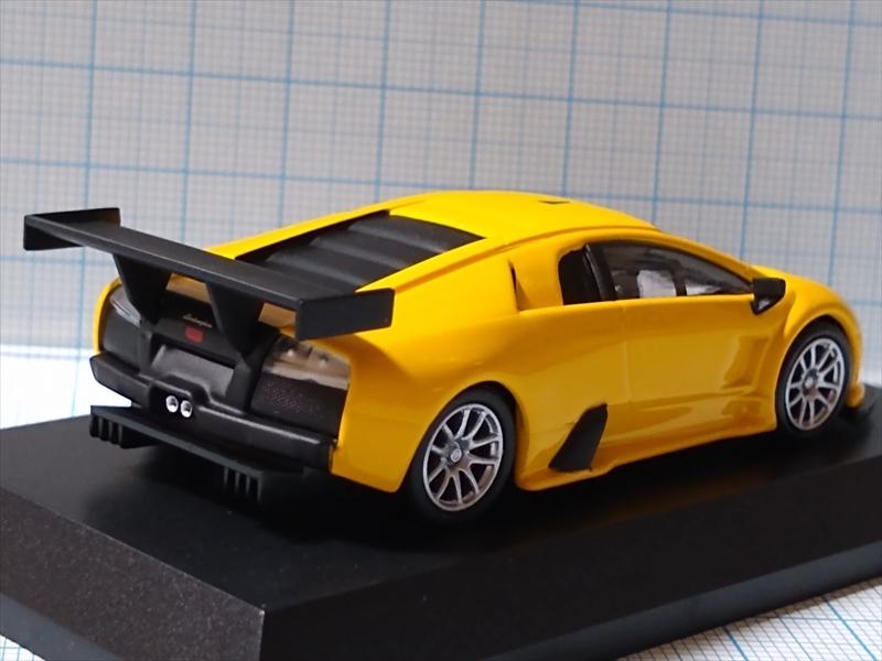 ランボルギーニ ミニカーコレクション6 Lamborghini Murcielago R-GT Team JLOCの画像4