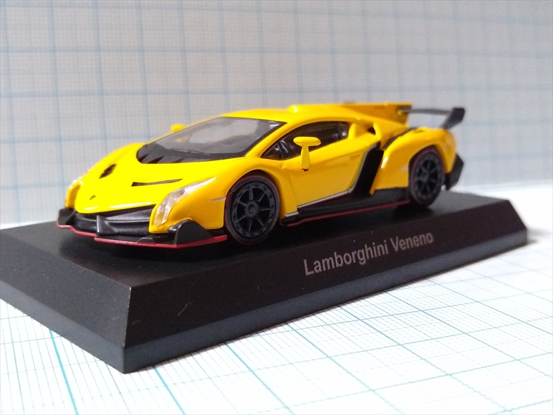 京商ミニカー ランボルギーニ ミニカーコレクション6 Lamborghini Venenoの画像1