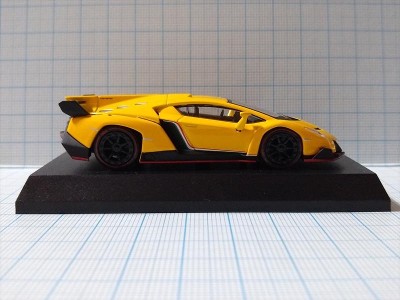 京商ミニカー ランボルギーニ ミニカーコレクション6 Lamborghini Venenoの画像3