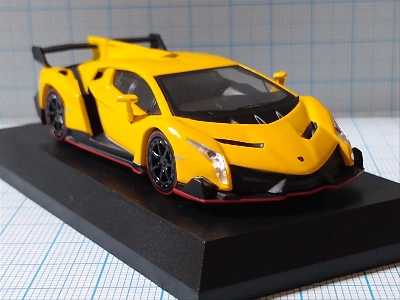 京商ミニカー ランボルギーニ ミニカーコレクション6 Lamborghini Venenoの画像7