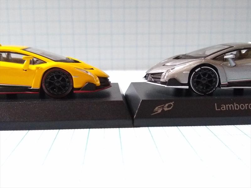 京商ミニカー ランボルギーニ ミニカーコレクション6 Lamborghini Venenoの画像