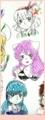 [うじみく][♀猫][声ちゃん]らくがき 色ペン