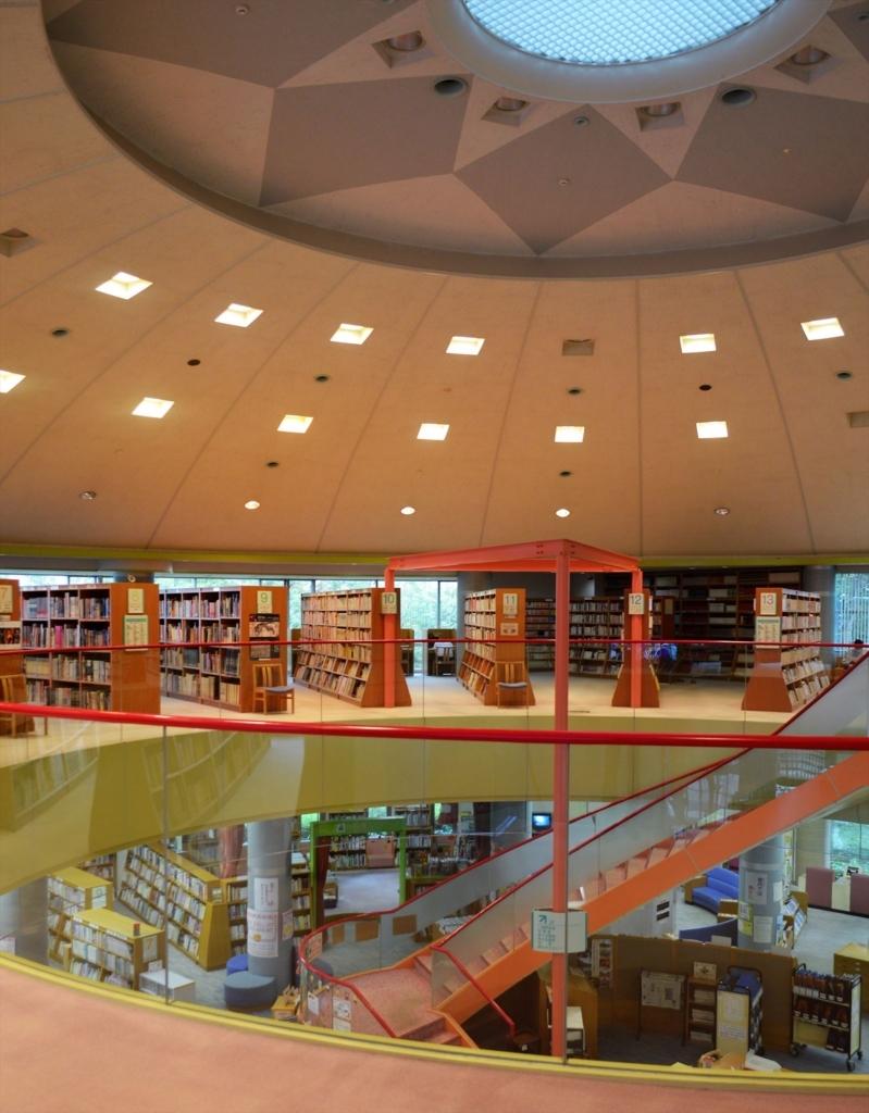 振り返ればロバがいる   愛西市中央図書館を訪れる