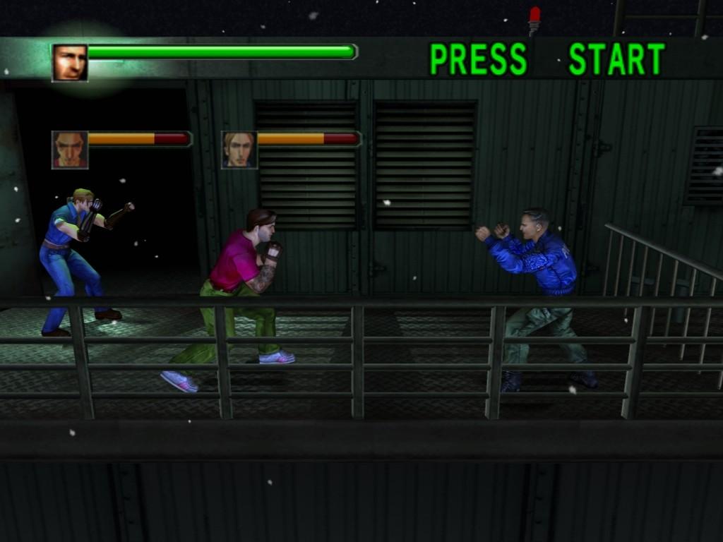 PCSX2(エミュレータ) PS2版ダイナマイト刑事