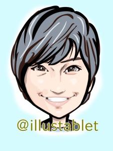 似顔絵 iPad Pro