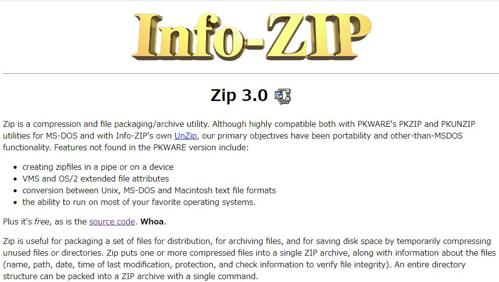 Zipのトップ