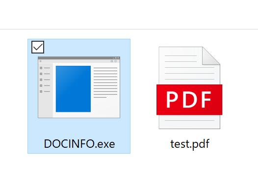 test.pdfが出力される。