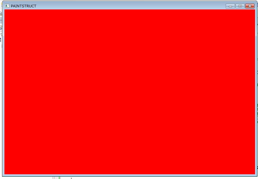 最初は赤で全体を塗られる