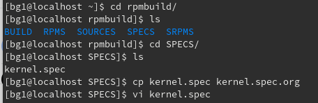 SPECSの下のkernel.specをバックアップとって編集