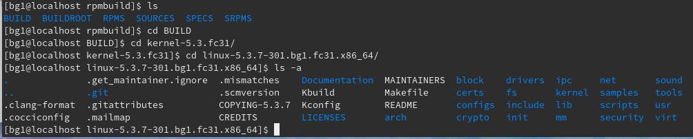 linuxから始まるソースを見ていくとgitレポジトリになってる