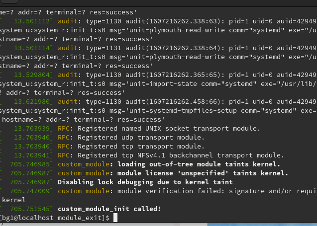 custom_module_init呼ばれてる