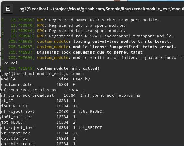 lsmodにもcustom_moduleがいる