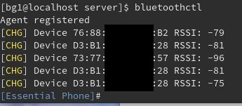 CUIでやる場合はbluetoothctlを使う