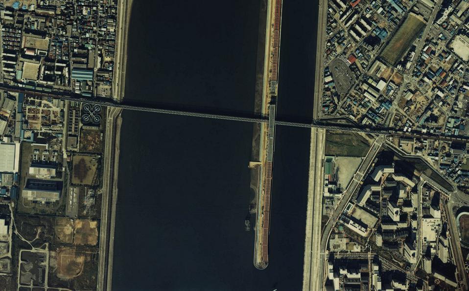 昭和59年の荒川の写真