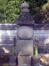大樹寺にある松平清康の墓