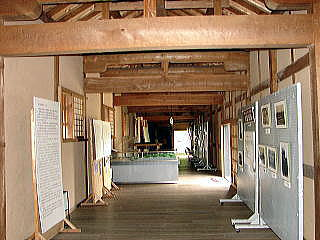 人吉城歴史館内部